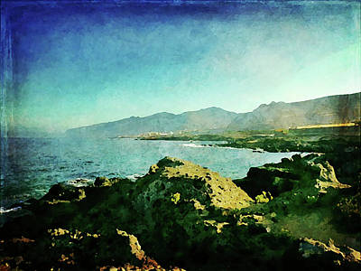 Photograph - Alcala Coastline by Anne Kotan