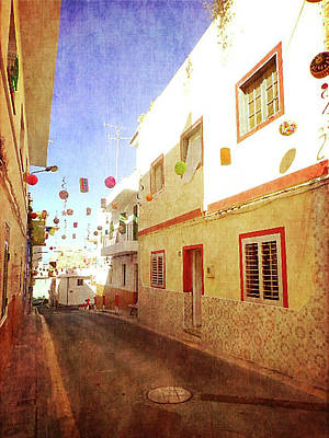 Photograph - Alcala Fiesta Street by Anne Kotan