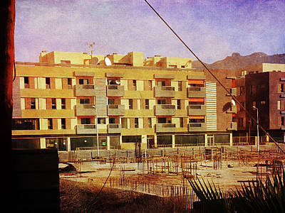 Photograph - Alcala Yellow Apartments by Anne Kotan