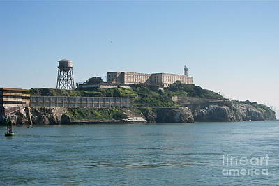 Photograph - Alcatraz by Carol  Bradley