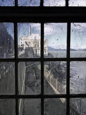 Alcatraz Escape Beach From Guard House Art Print