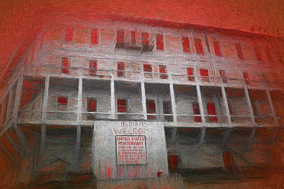Alcatraz Federal Penitentiary Art Print