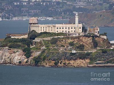 Alcatraz Art Print by Frederick Holiday