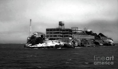 Photograph - Alcatraz by Gregory Dyer