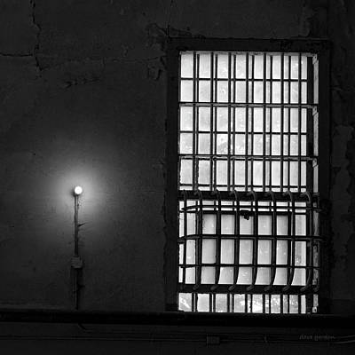 Photograph - Alcatraz I Bw Sq by David Gordon