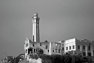 Alcatraz Photograph - Alcatraz II Bw by David Gordon