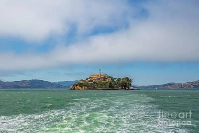 Photograph - Alcatraz Island by Benny Marty