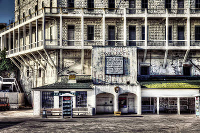 Alcatraz Photograph - Alcatraz Island Building 64 by Jennifer Rondinelli Reilly - Fine Art Photography