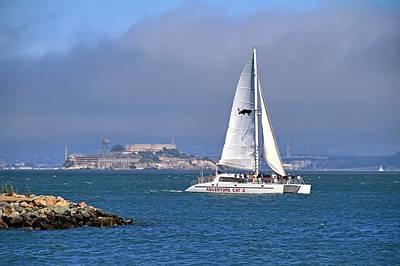 Photograph - Alcatraz Island by Donna Kennedy