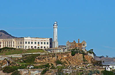 Jake Johnson Photograph - Alcatraz Lighthouse by Jake Johnson
