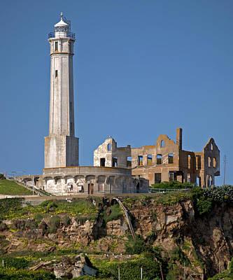 Photograph - Alcatraz Lighthouse One by Caroline Stella