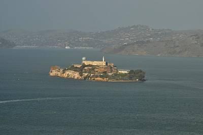Photograph - Alcatraz by Puzzles Shum
