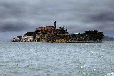 Alcatraz Storm Print by Joe Myeress