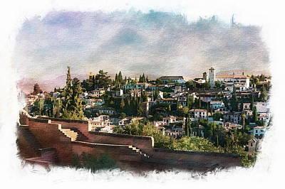 Photograph - Alcazaba Of Alhambra by Anthony Dezenzio