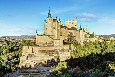 Photograph - Alcazar De Segovia Castle 01 by Weston Westmoreland
