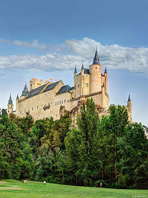 Photograph - Alcazar De Segovia Castle 02 by Weston Westmoreland