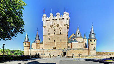 Photograph - Alcazar De Segovia Castle 03 by Weston Westmoreland