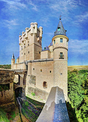 Photograph - Alcazar De Segovia Castle 04 by Weston Westmoreland