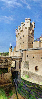 Photograph - Alcazar De Segovia Castle 05 by Weston Westmoreland