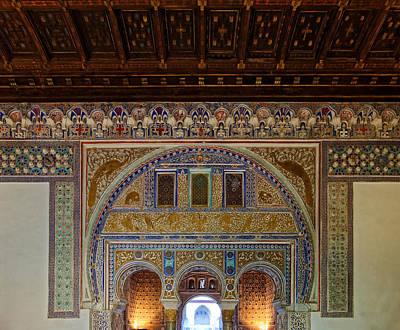 Photograph - Alcazar De Sevilla Archway by Adam Rainoff