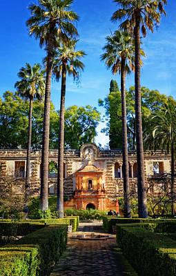 Photograph - Alcazar De Sevilla Galeria De Grutesco by Adam Rainoff