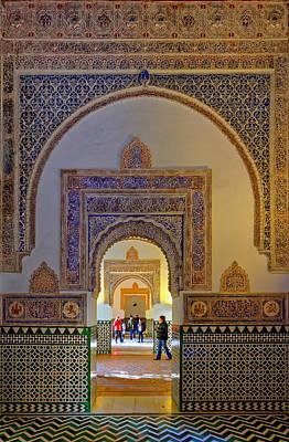 Photograph - Alcazar De Sevilla Multiple Rooms by Adam Rainoff