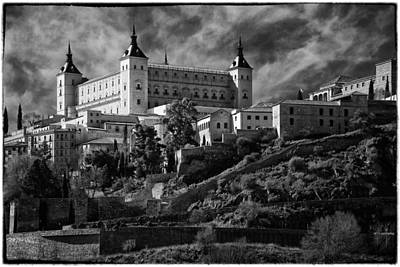 Toledo Photograph - Alcazar by Joan Carroll
