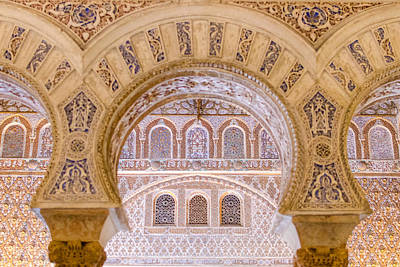 Alcazar Of Seville - Unique Architecture Art Print by Andrea Mazzocchetti