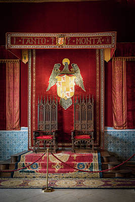 Photograph - Alcazar Throne Room by David Cote