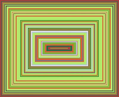Digital Art - Alchemical Acid Colour Pattern II by Julia Woodman