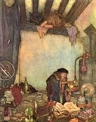 Photograph - Alchemist 1910 by Padre Art