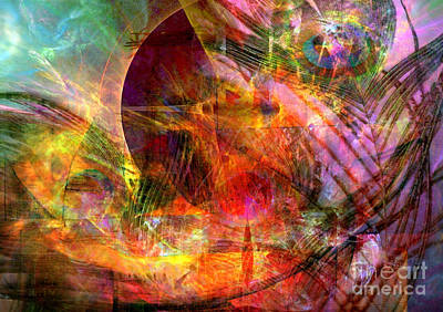Digital Art - Alchemy 12 by Helene Kippert