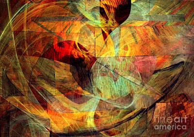 Digital Art - Alchemy 5 by Helene Kippert