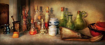 Photograph - Alchemy - The Home Alchemist by Mike Savad