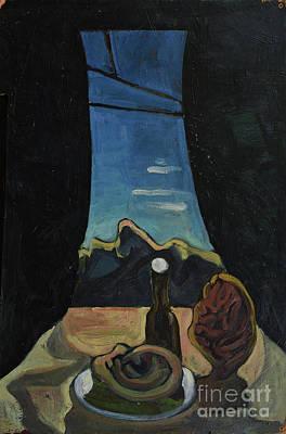 Painting - Alcoholic by Oleg Konin
