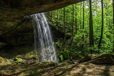 Photograph - Alcorn Falls by Ulrich Burkhalter
