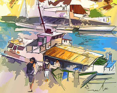 Painting - Alcoutim In Portugal 05 Bis by Miki De Goodaboom