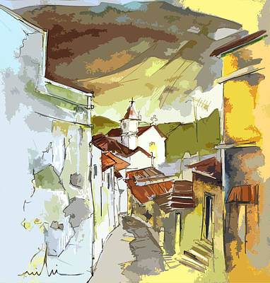 Painting - Alcoutim Portugal 06 Bis by Miki De Goodaboom