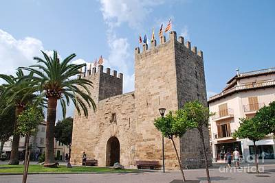 Photograph - Alcudia Old Town Gate In Majorca by David Fowler