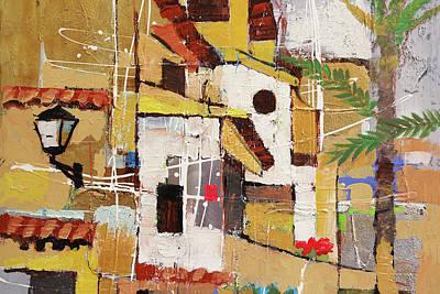 Painting - Aldea Benavente by Lutz Baar