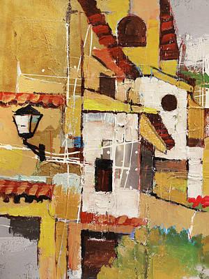 Painting - Aldea Golden by Lutz Baar