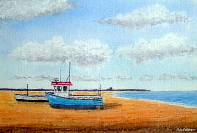 Aldeburgh Beach, Suffolk - Sold Art Print