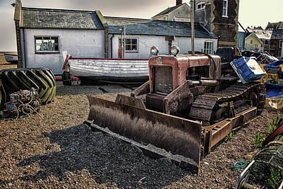 Basketball Patents - Aldeburgh fishing huts by Martin Newman