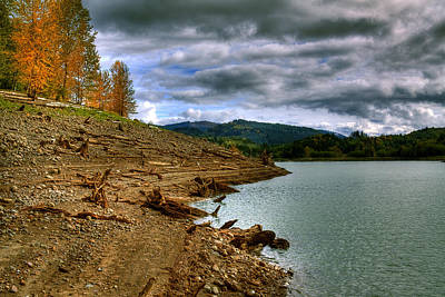 Digital Photograph - Alder Lake by David Patterson