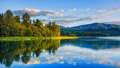 Photograph - Alder Lake Reflection by Jason Butts