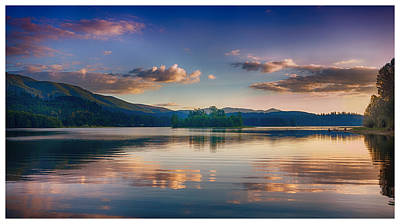 Photograph - Alder Lake Sunset by Jason Butts
