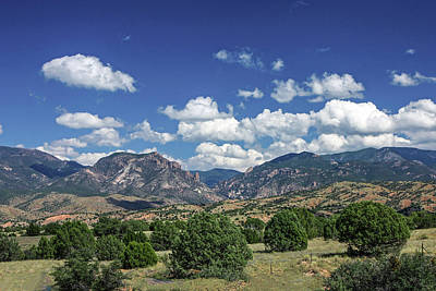 Photograph - Aldo Leopold Wilderness, New Mexico by Lon Dittrick
