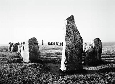Photograph - Ale Stenar - Ale's Stones by Somerled Karlsson