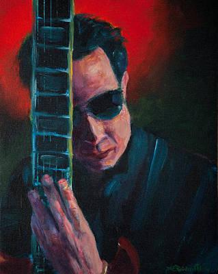 Alejandro Painting - Alejandro by Jason Reinhardt