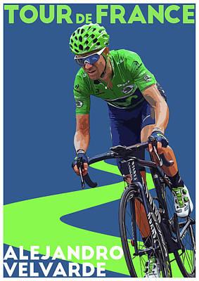 Giro Digital Art - Alejandro Velvarde by Semih Yurdabak